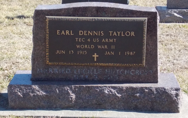 Earl Dennis Taylor