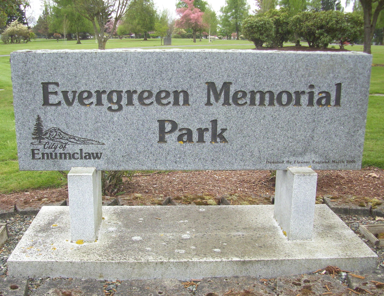 Enumclaw Evergreen Memorial Park