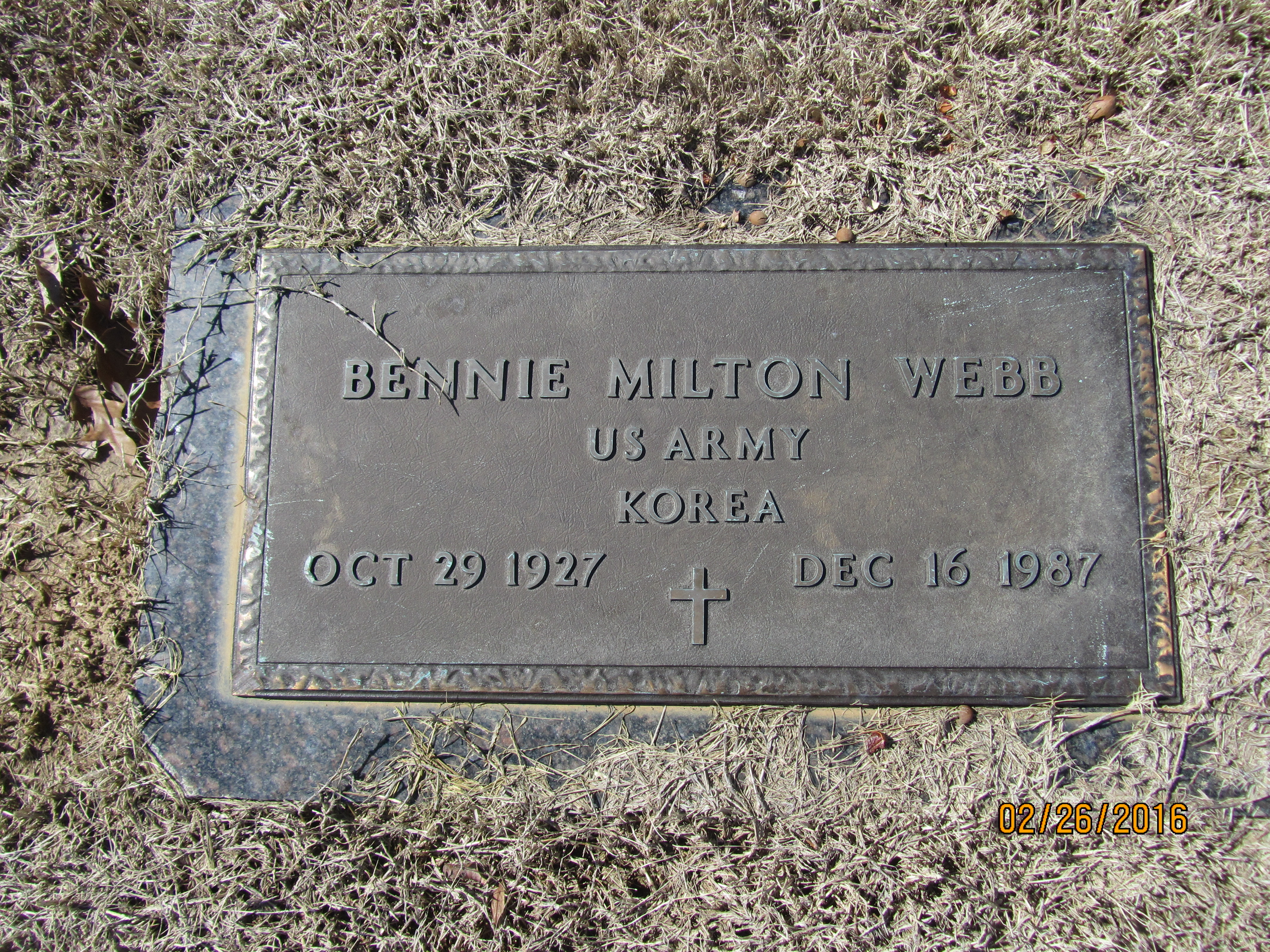 Bennie Milton Webb