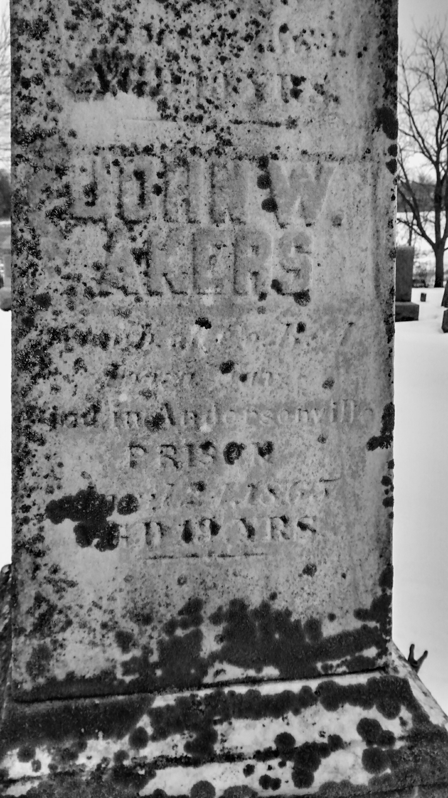 Pvt John Wesley Akers