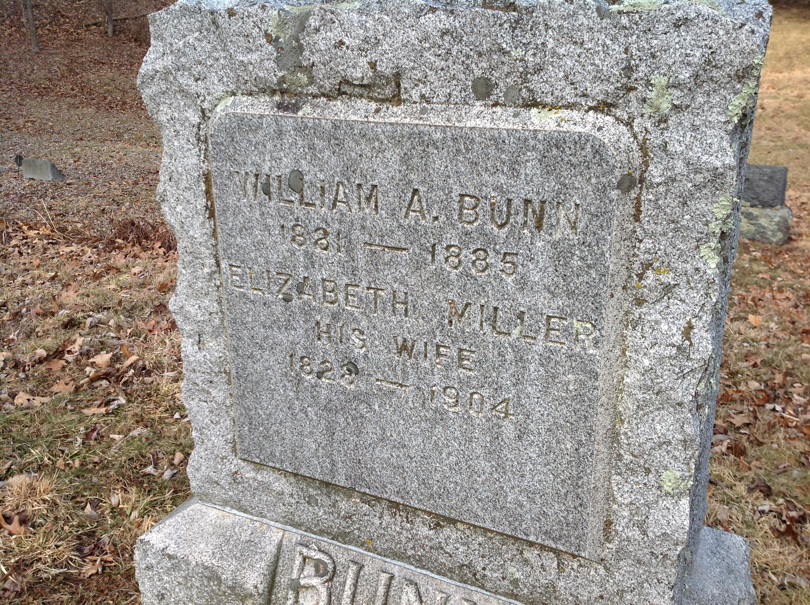Elizabeth <i>Miller</i> Bunn