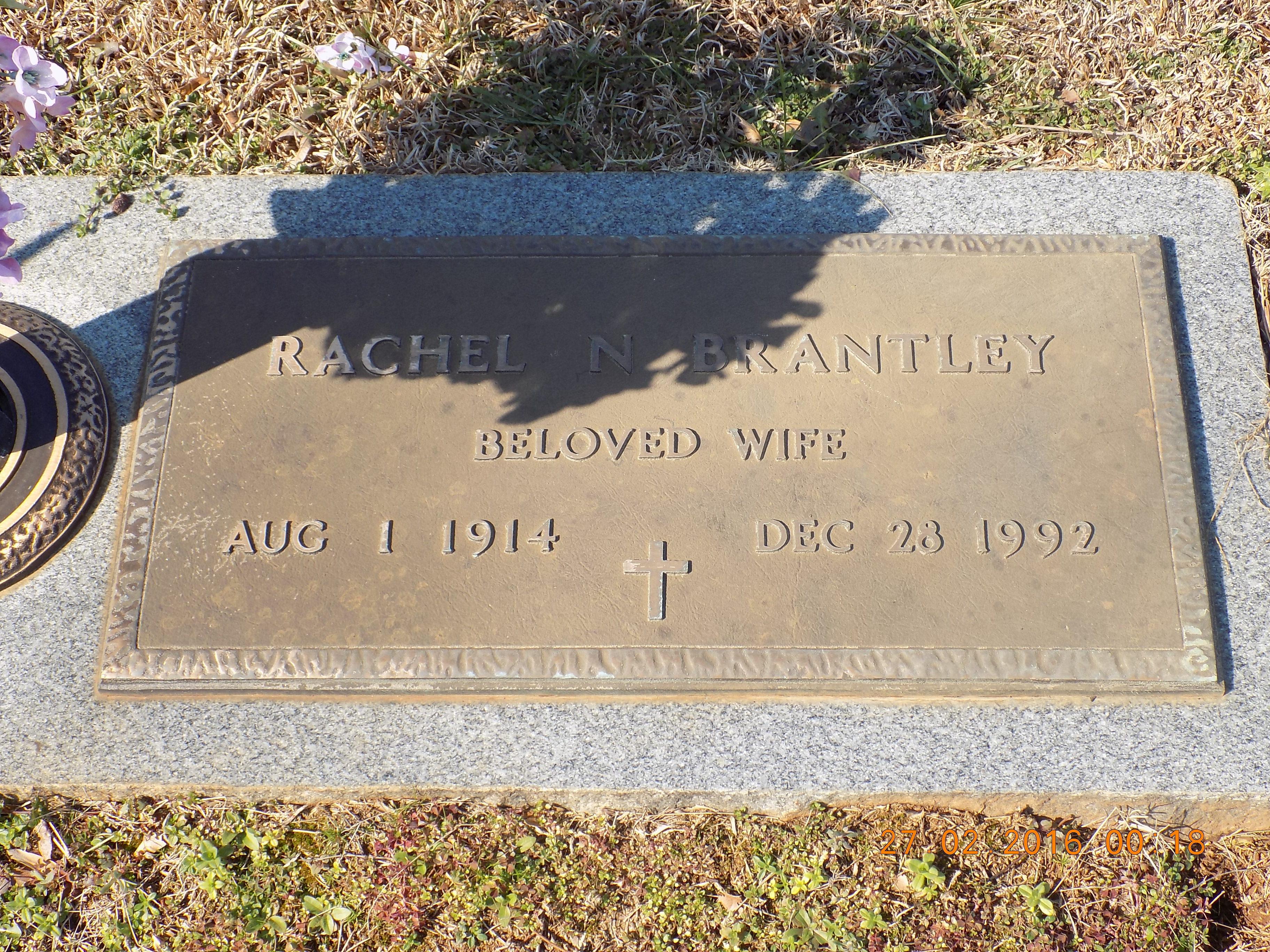 Rachel <i>Nesbit</i> Brantley