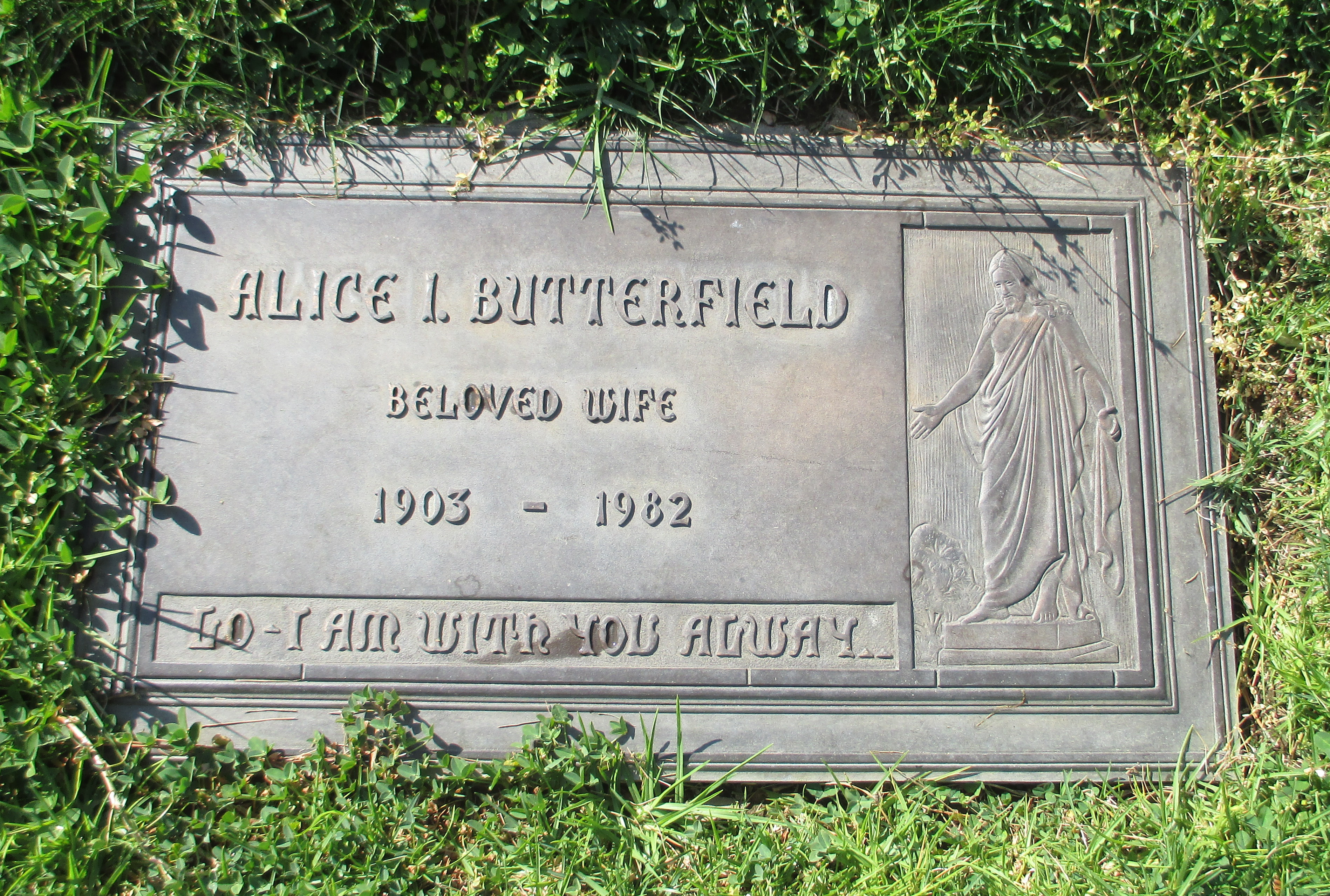 Alice Ingrid <i>Ostrom</i> Butterfield