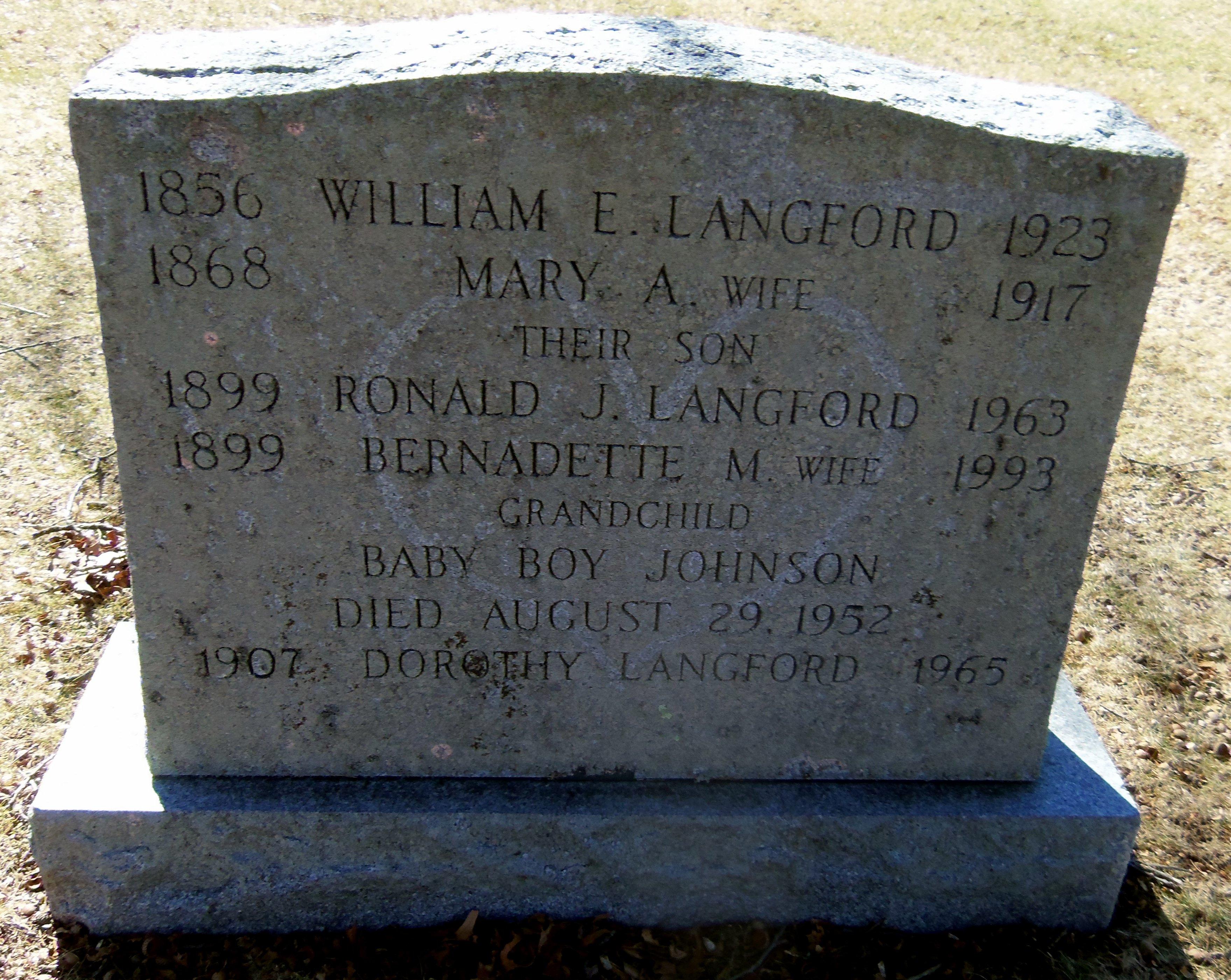 Ronald J. Langford, Sr