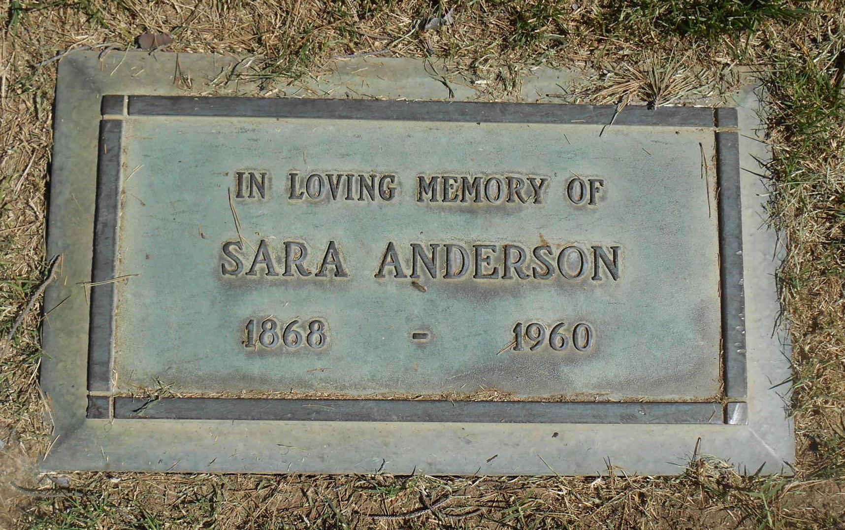Sara Victoria <i>Johansson</i> Anderson