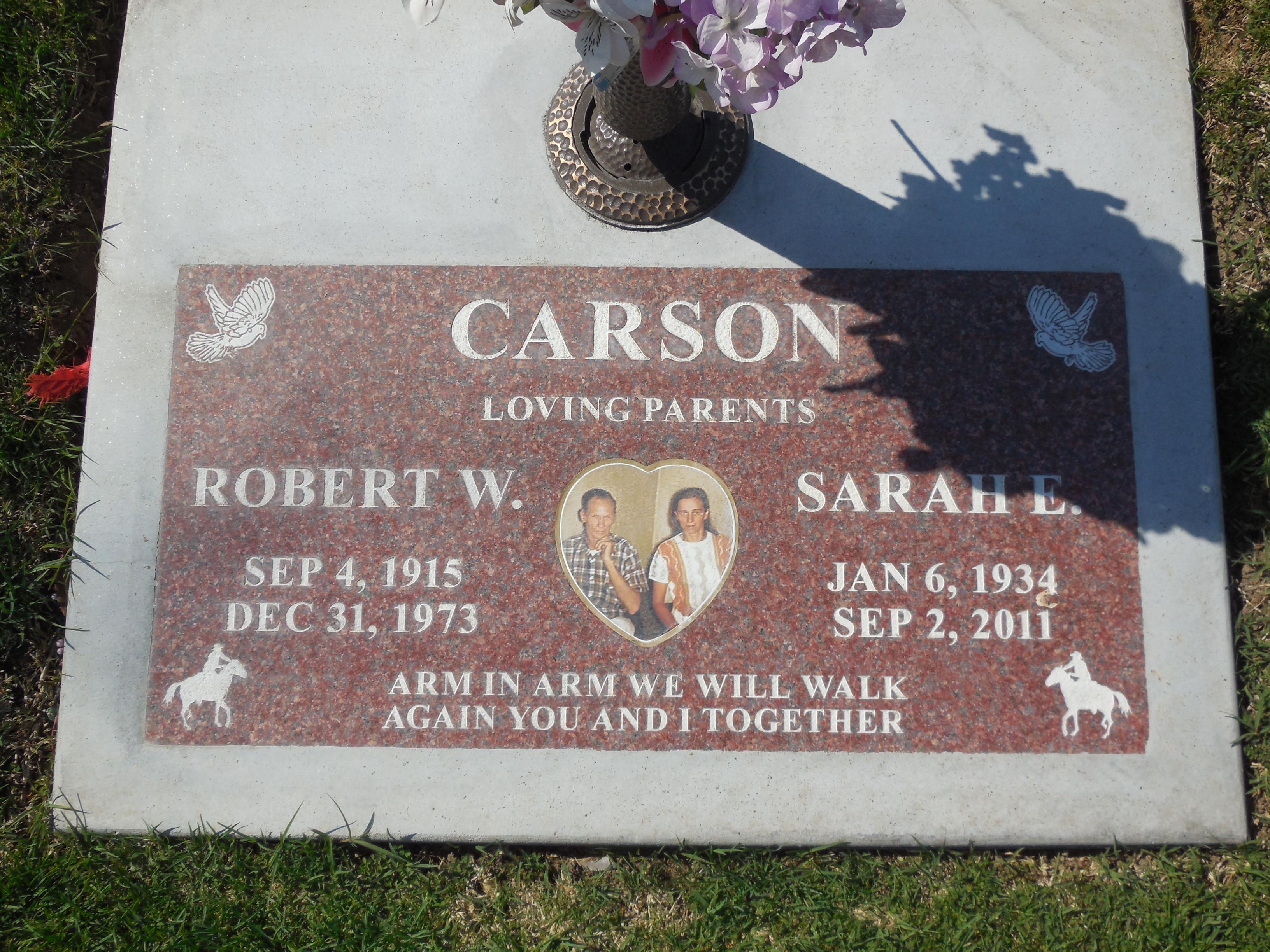 Robert Wayne Dub Carson
