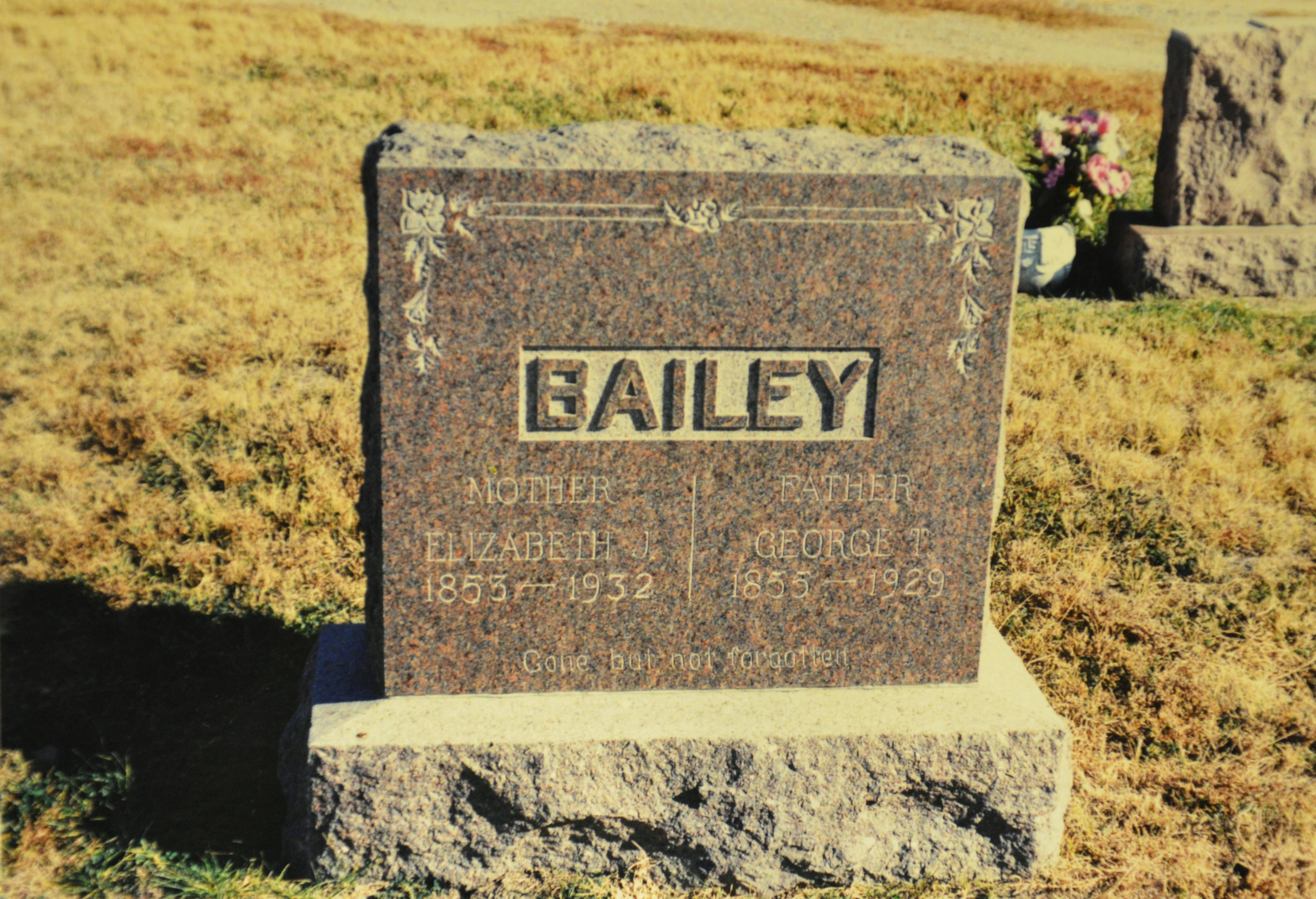 George Thomas Tom Bailey