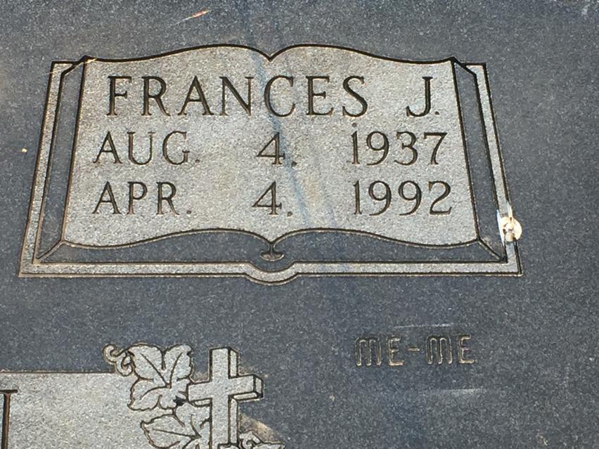 Frances J <i>Lindstrom</i> Allen