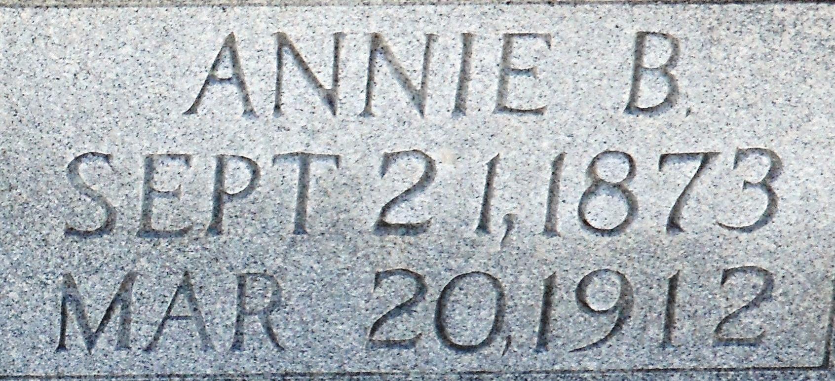 Annie Lucinda <i>Beatty</i> Cowan