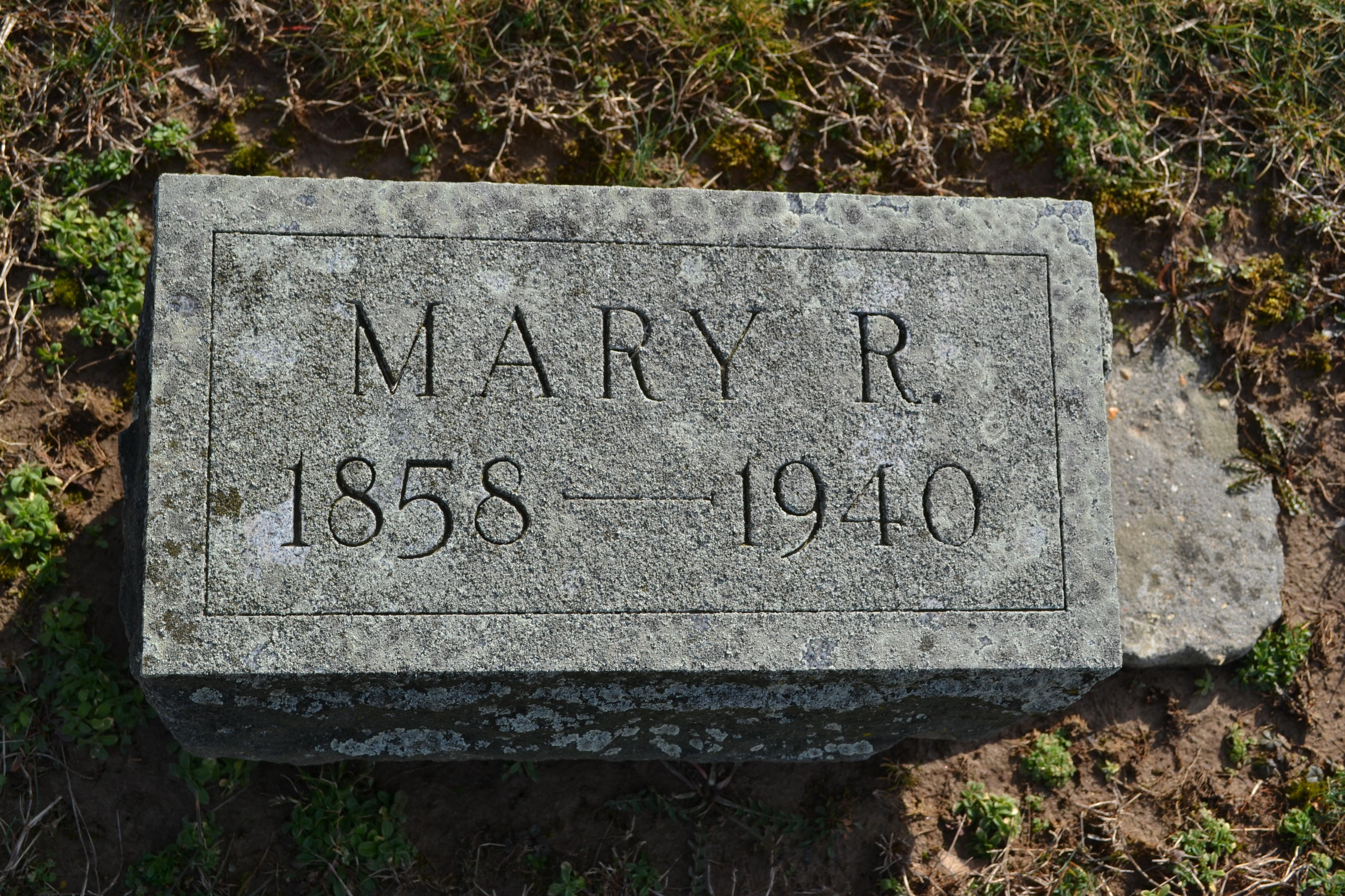 Mary R. Sparks