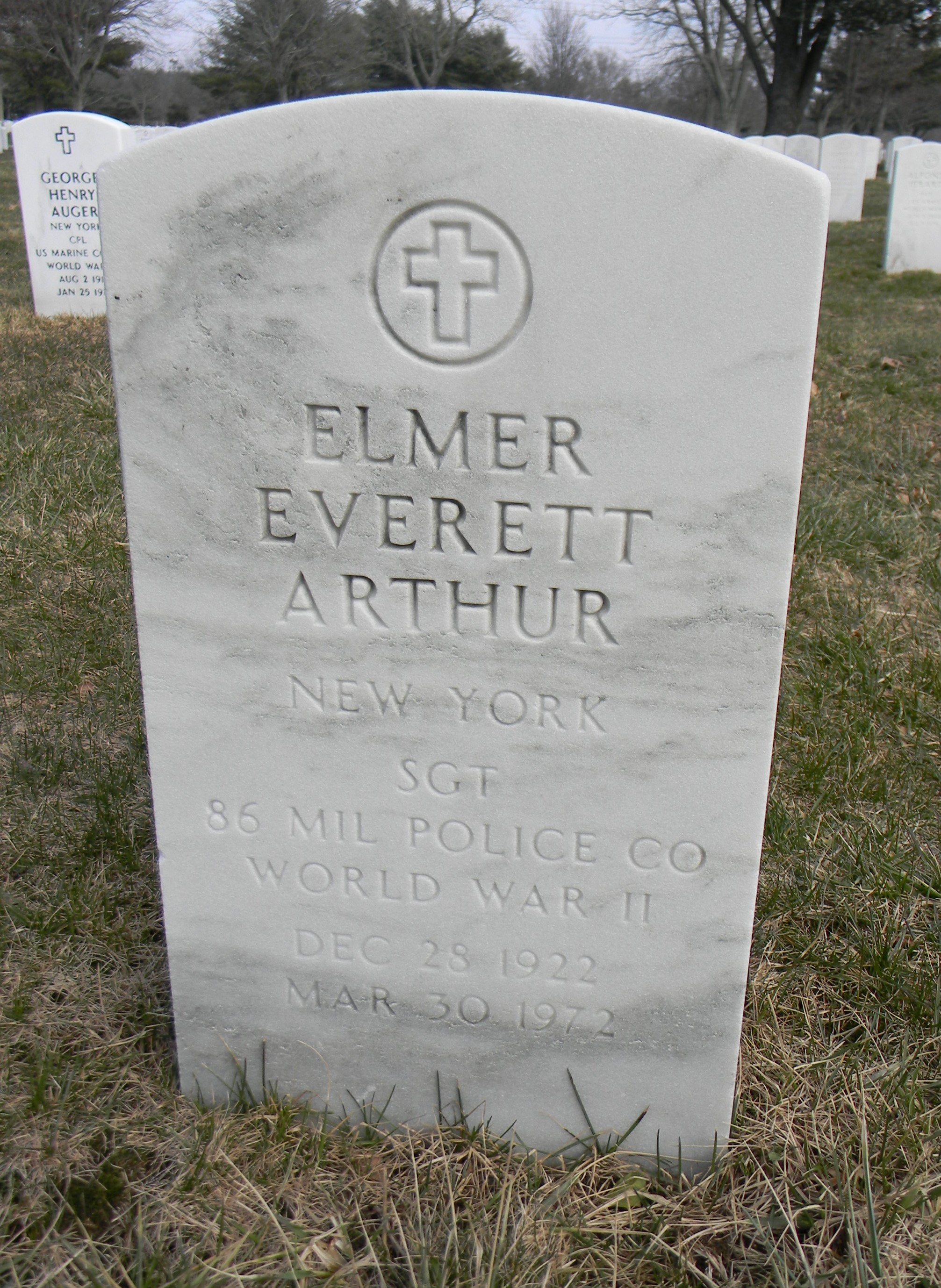 Elmer Everett Arthur