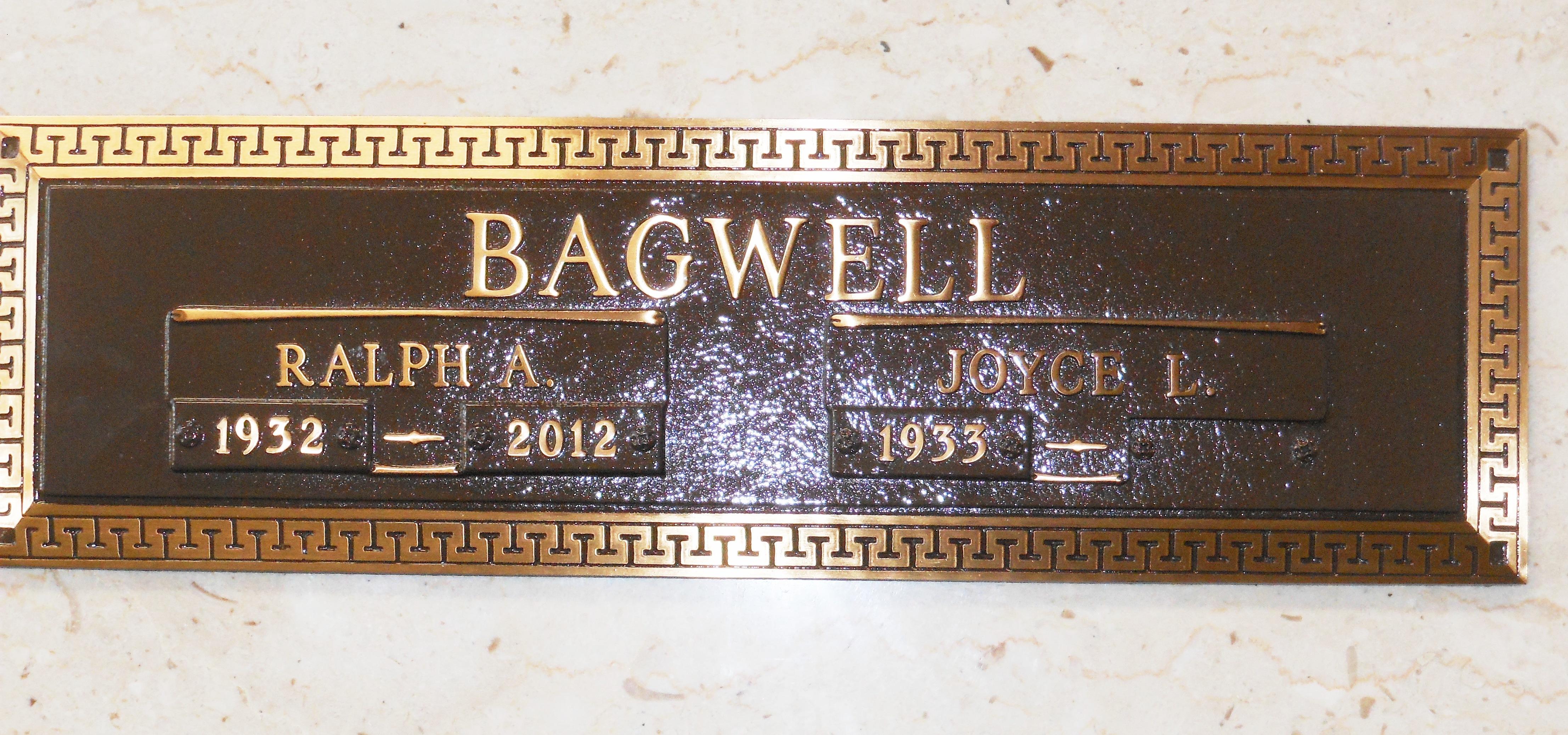 Rev Ralph Art Bagwell