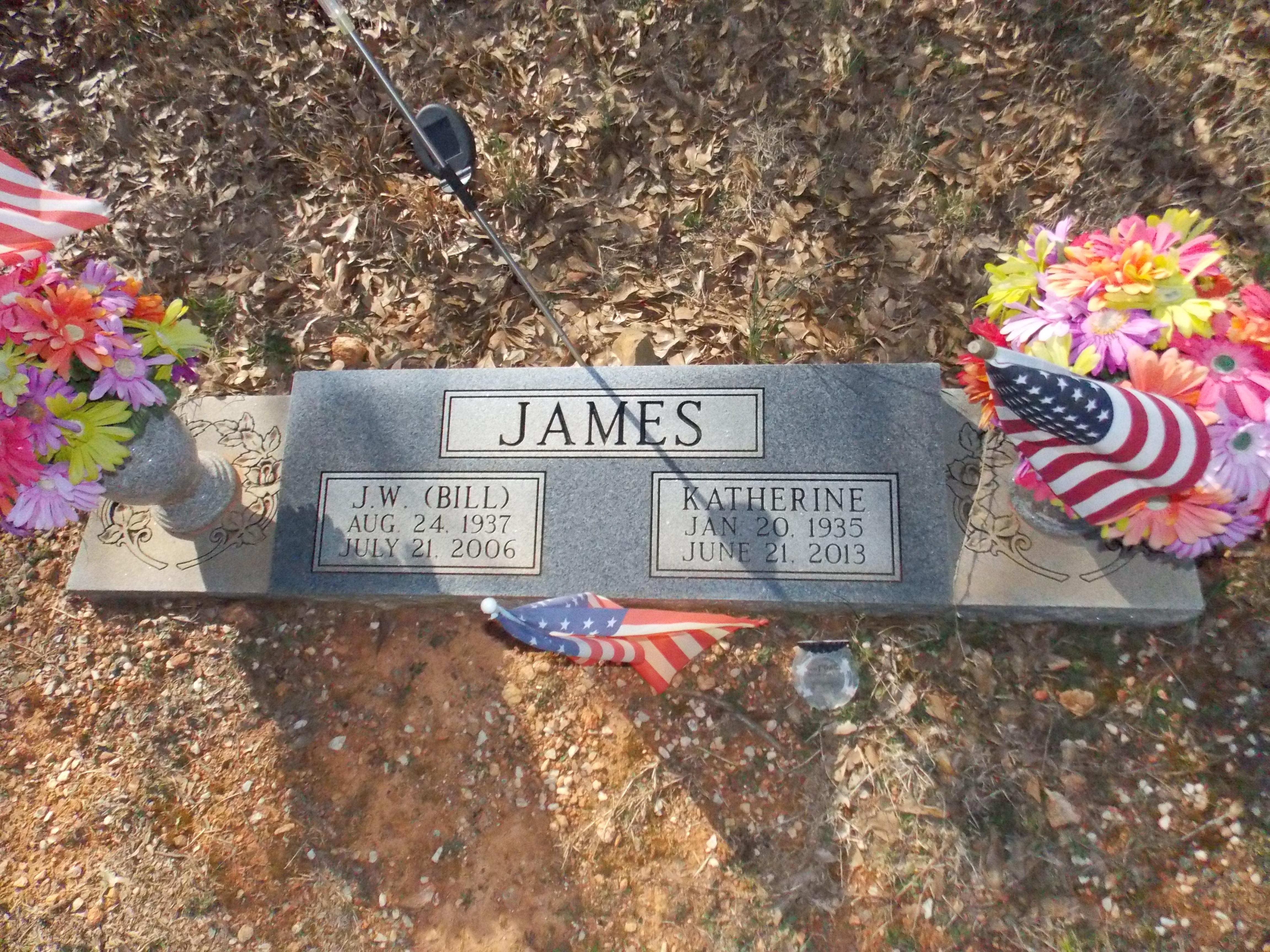J. W. Bill James