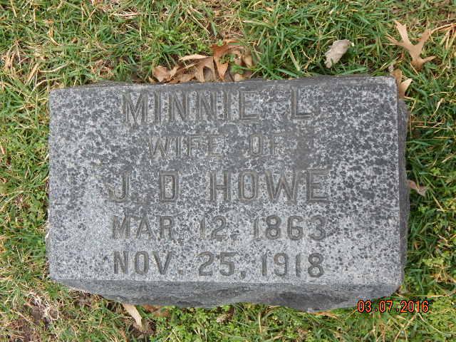 Minnie L. <i>Post</i> Howe