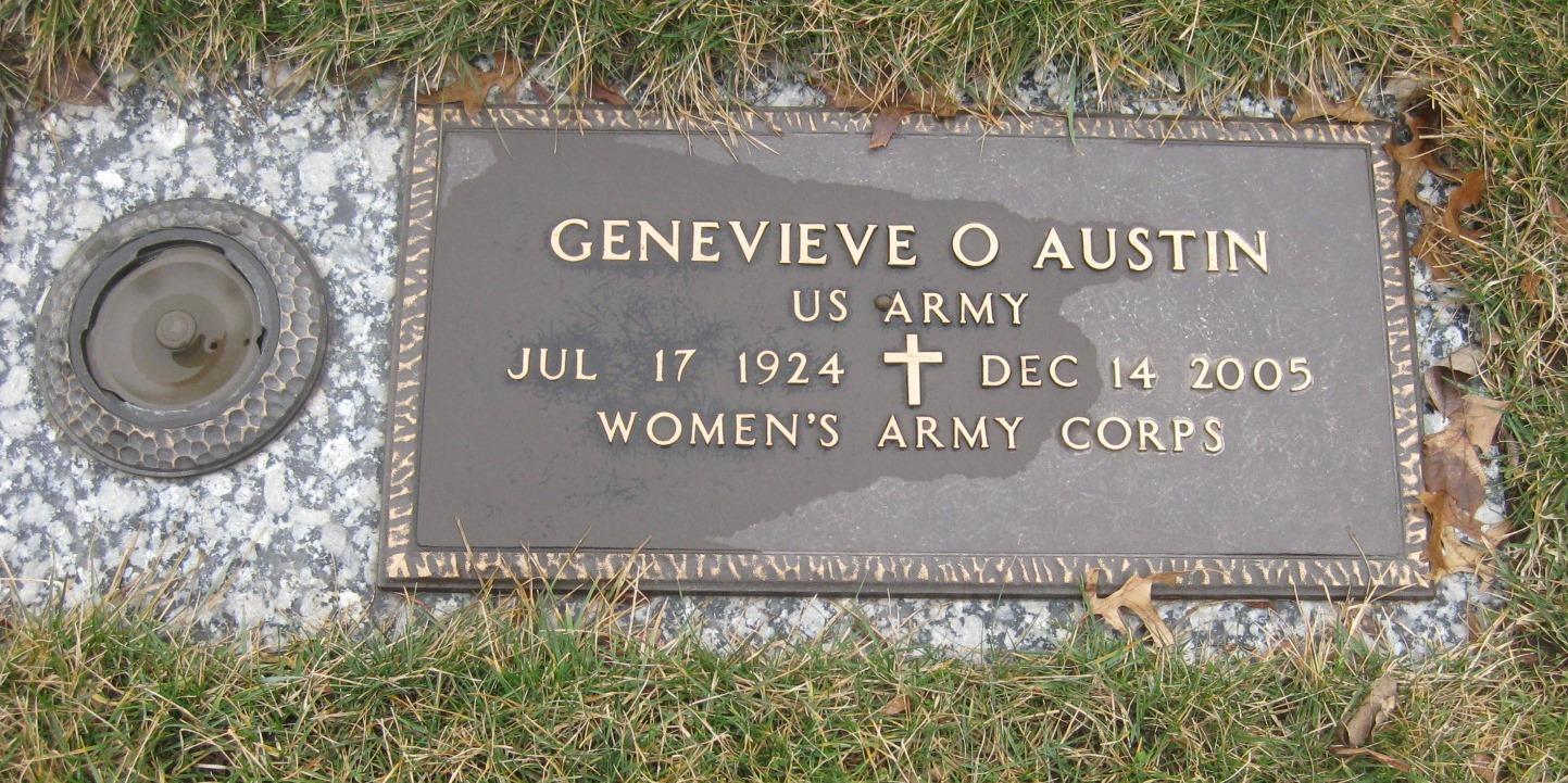 Genevieve A. <i>O'Neill</i> Austin