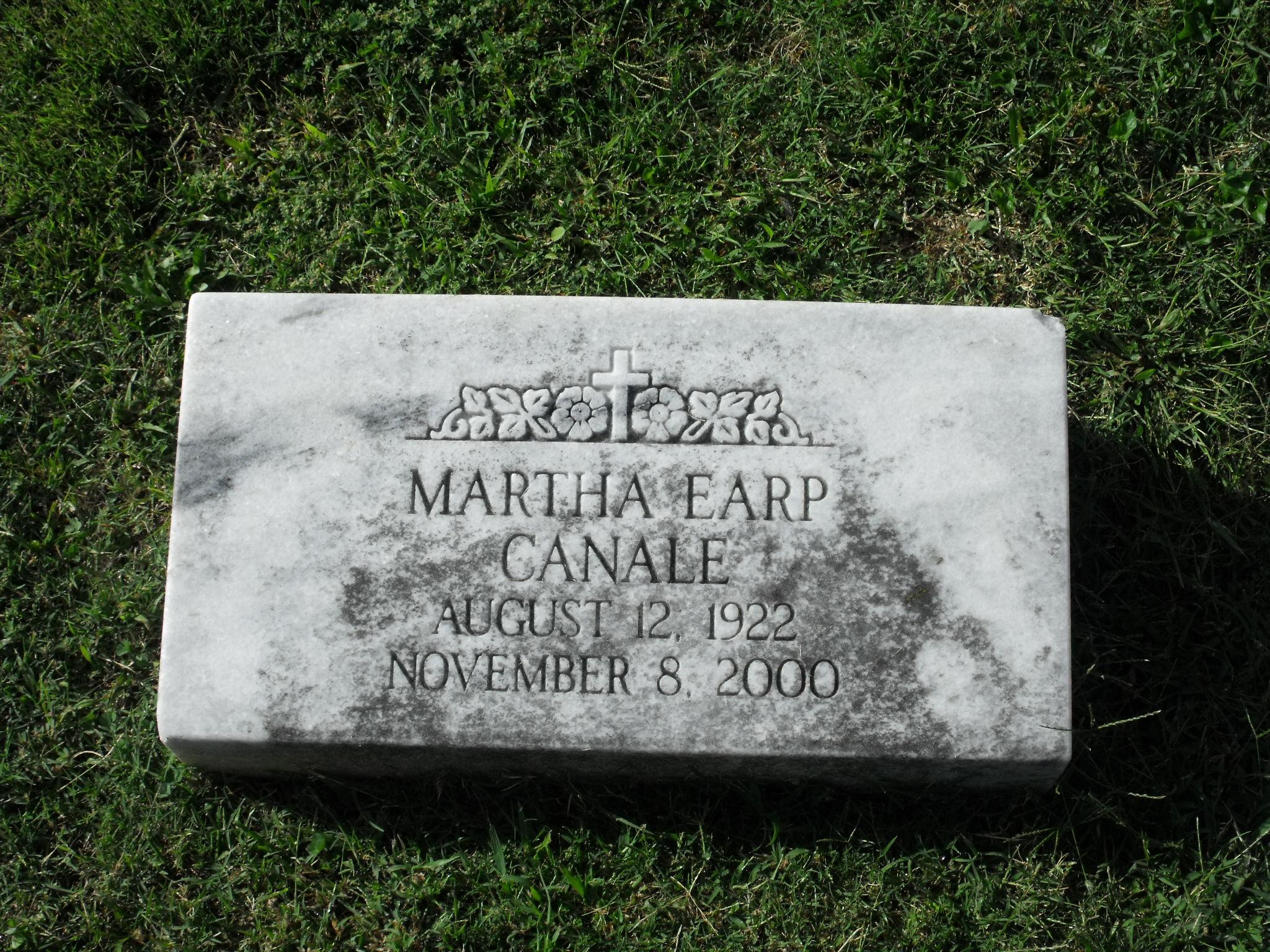 Martha <i>Earp</i> Canale