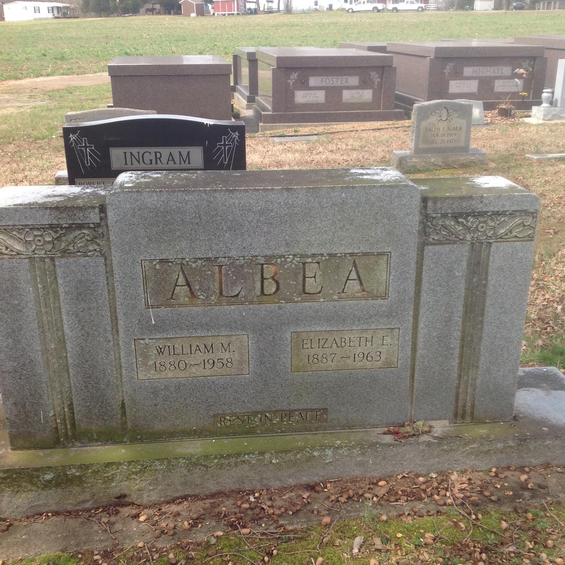 William M Albea