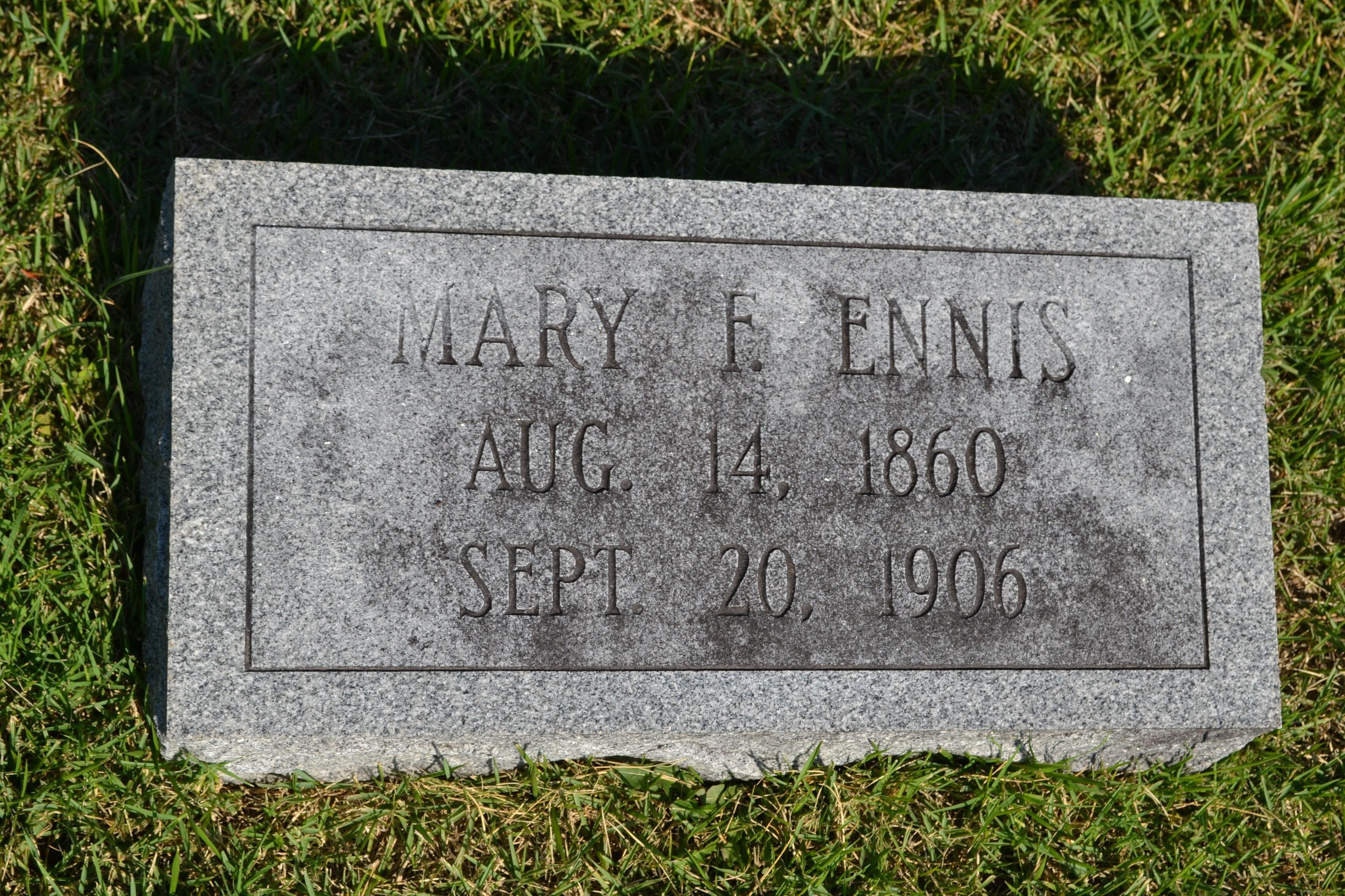 Mary A. <i>Fleming</i> Ennis