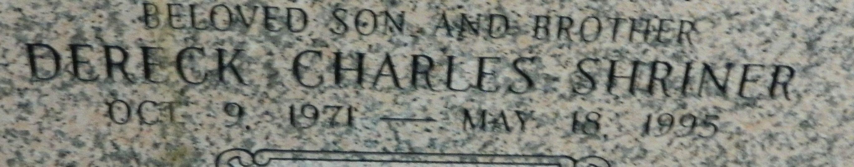 Dereck Charles Shriner