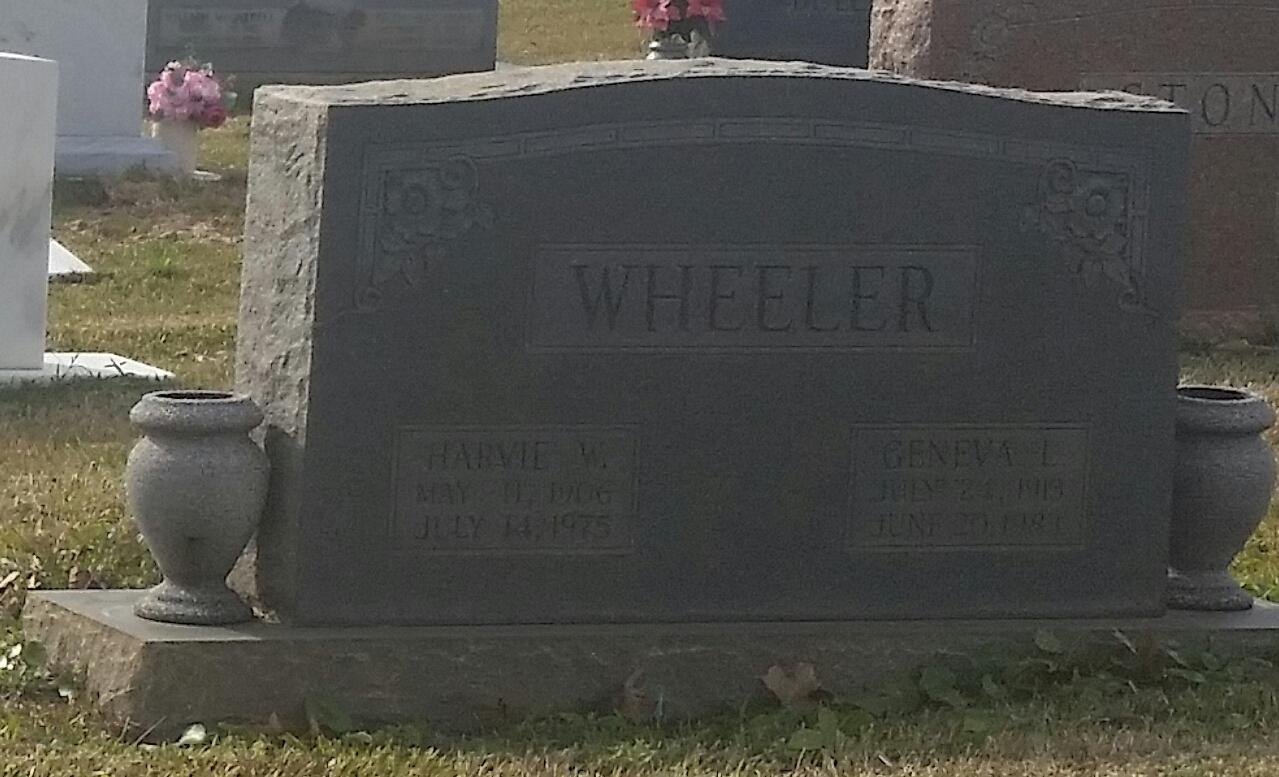 Harvey W Wheeler