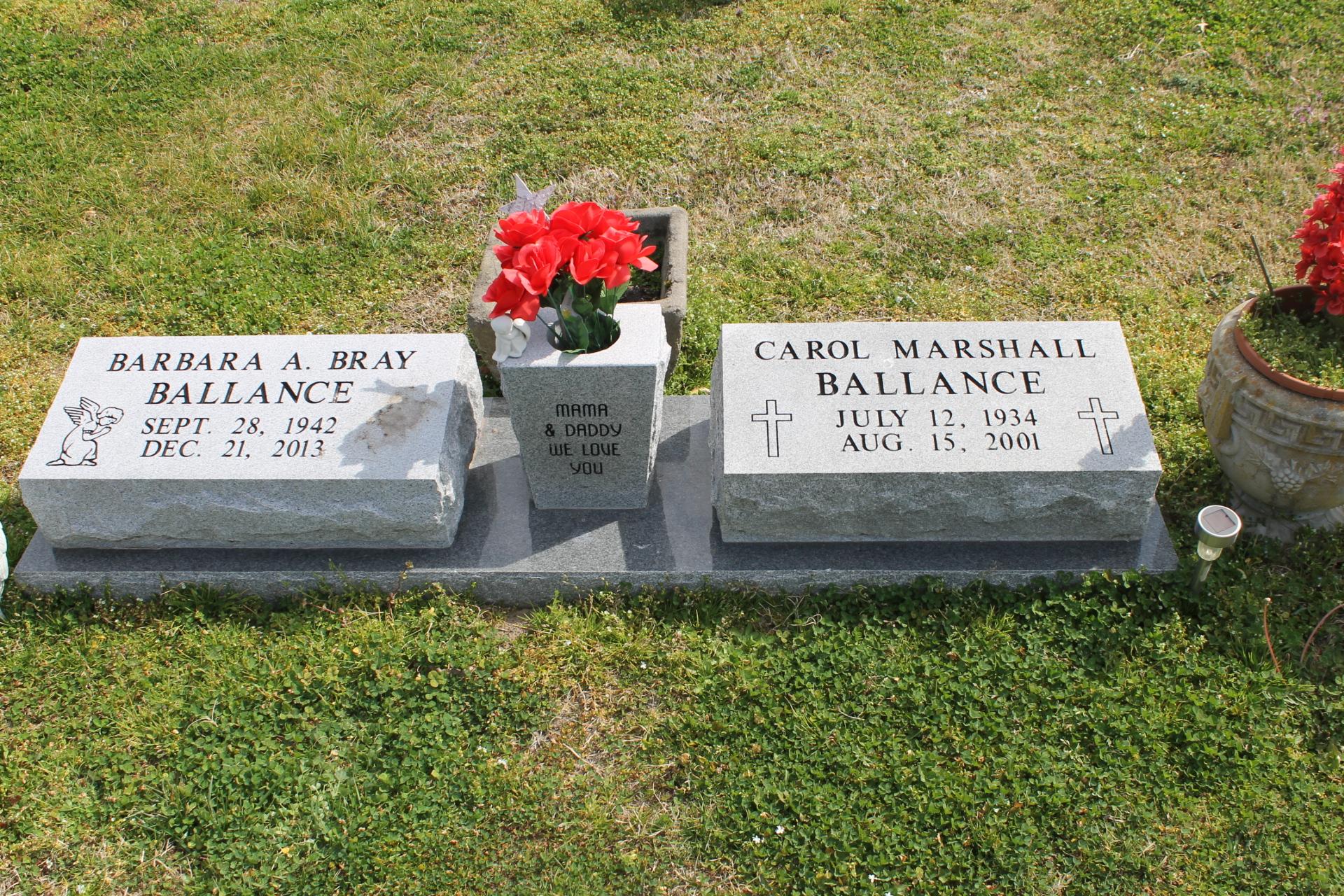 Rev Carol Marshall Ballance