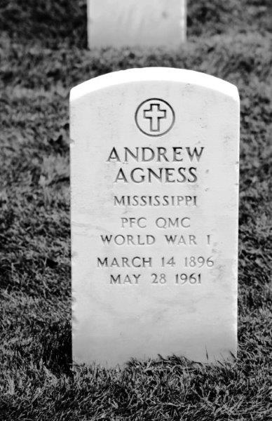 PFC Andrew Agness