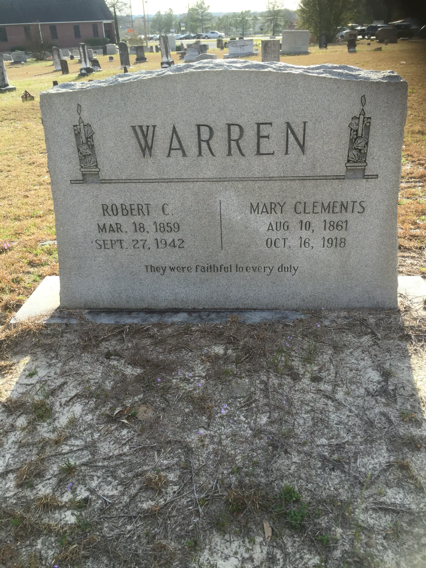 Mary <i>Clement</i> Warren