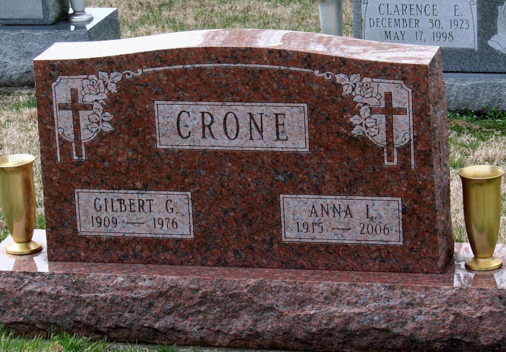 Anna Louise <i>Strahl</i> Crone