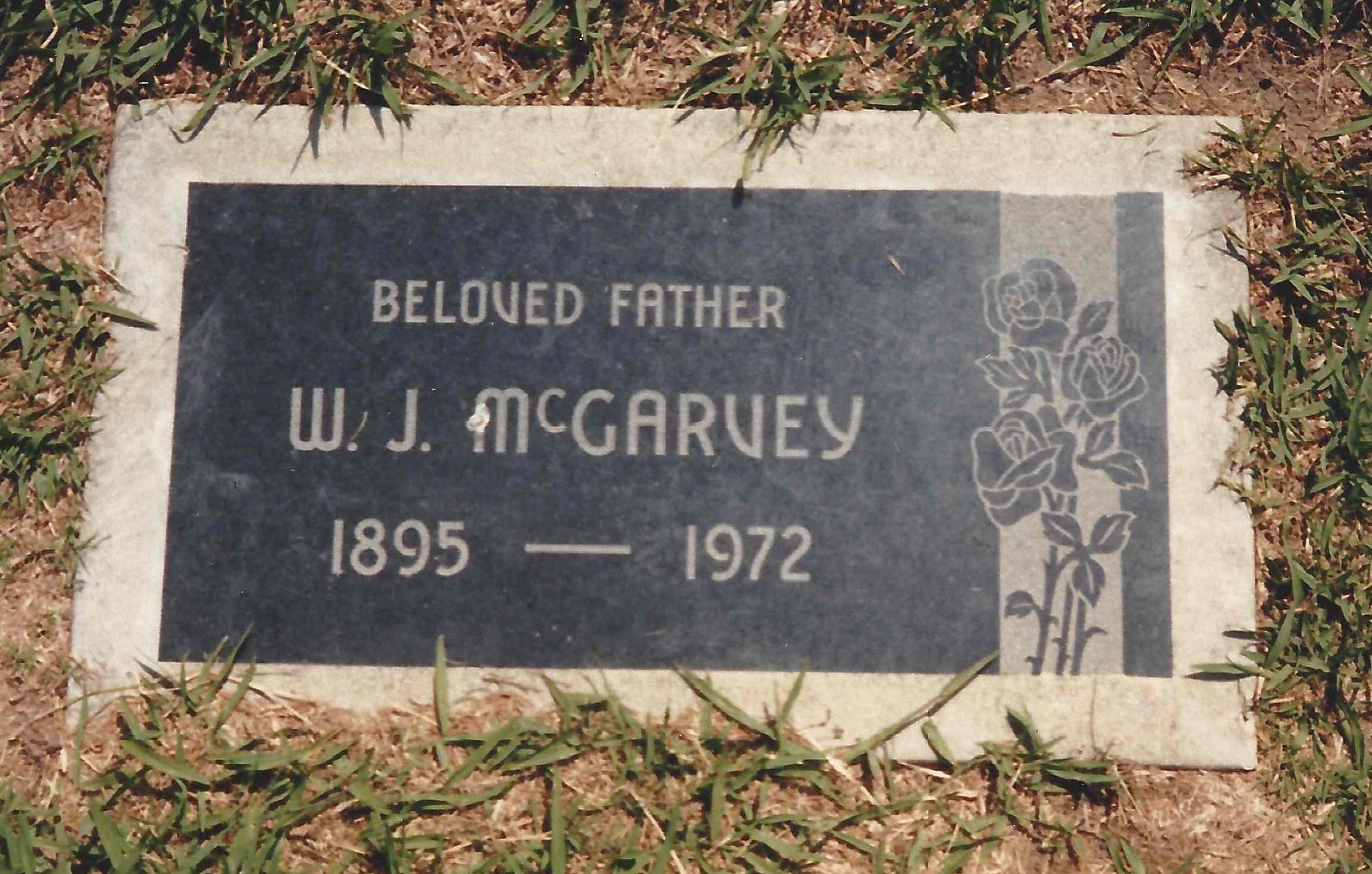 William John Bill McGarvey, Sr