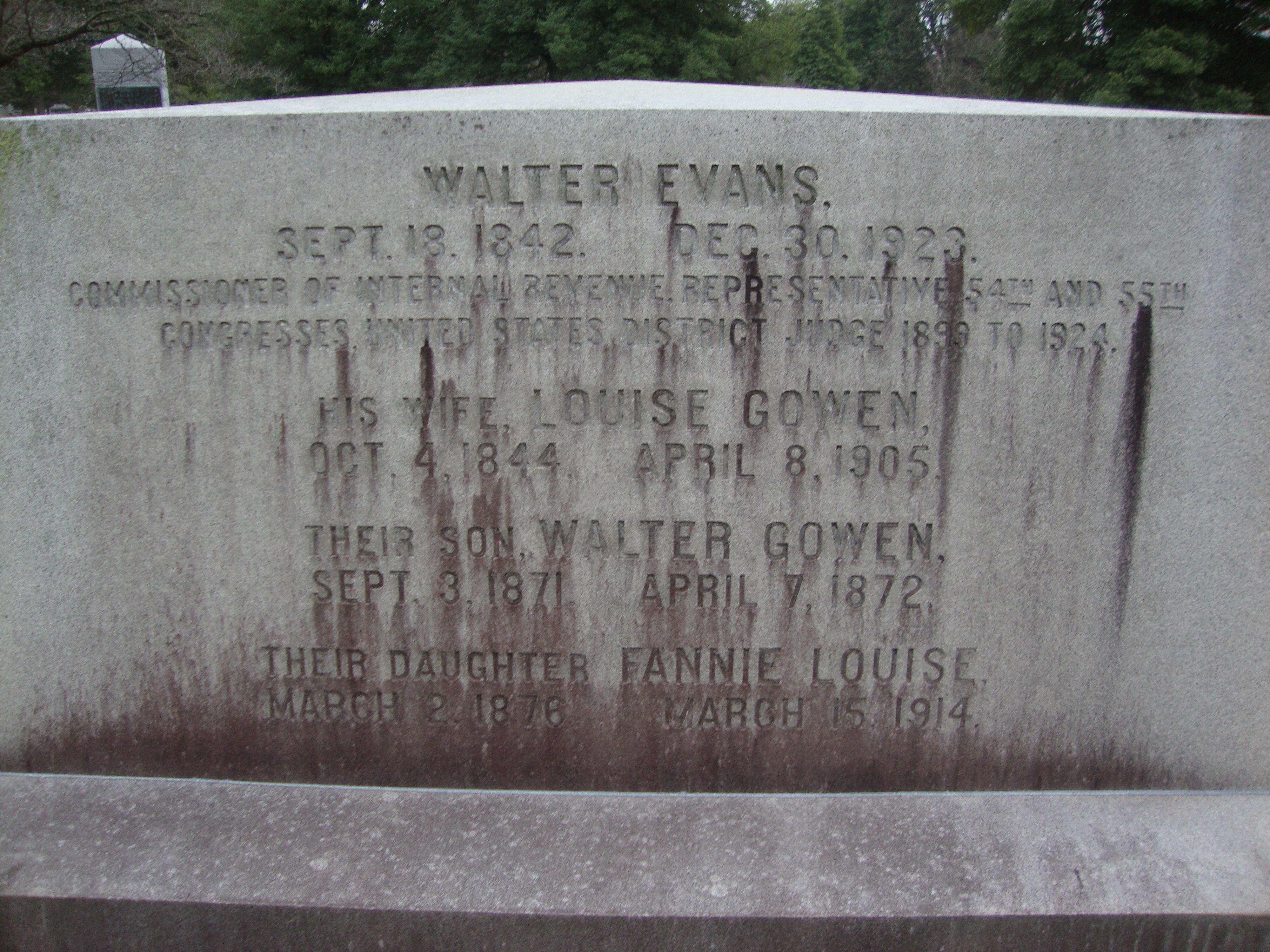 Judge Walter Evans