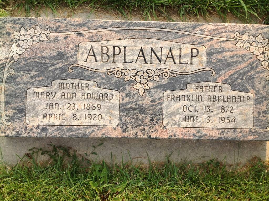 Mary Ann <i>Howard</i> Abplanalp