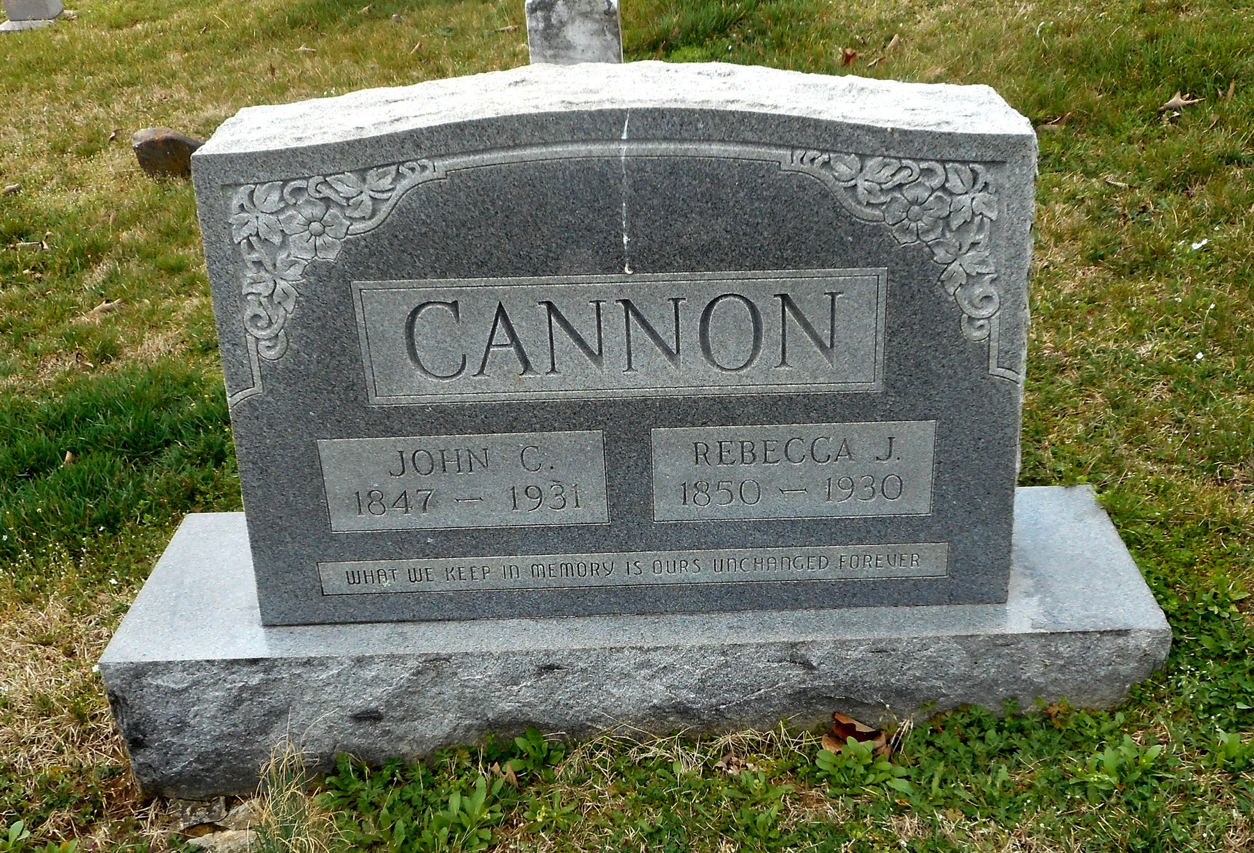 Rebecca Virginia <i>Johnson</i> Cannon