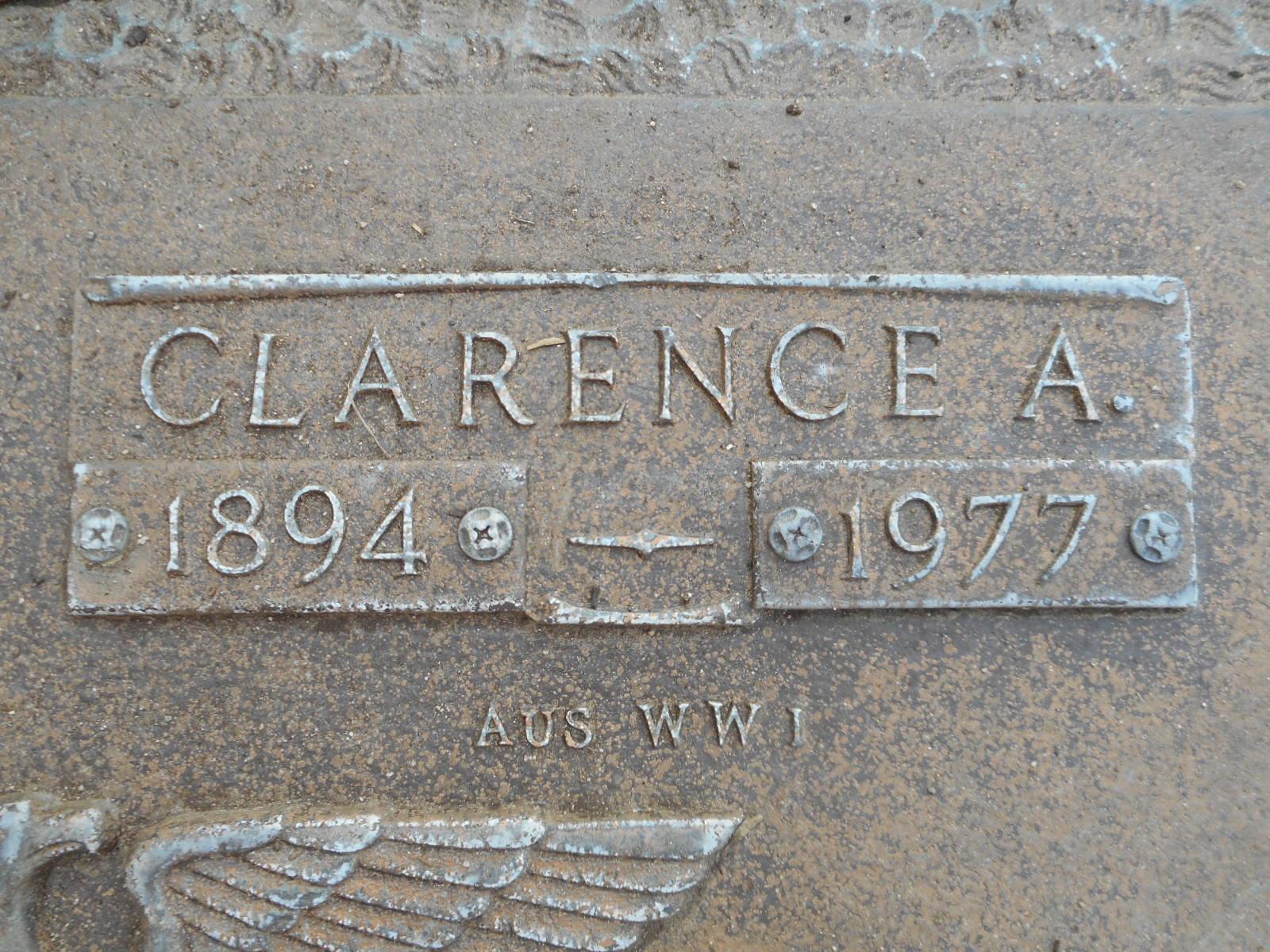 Clarence Albert Whitey Hatch