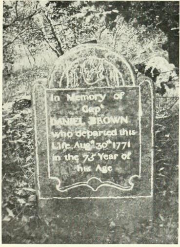 Capt Daniel Brown, Sr