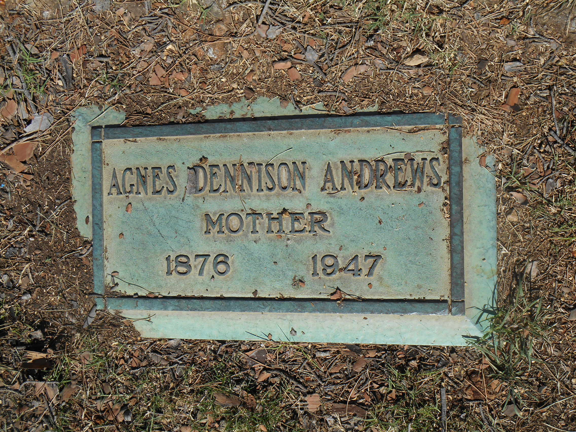 Agnes <i>Dennison</i> Andrews