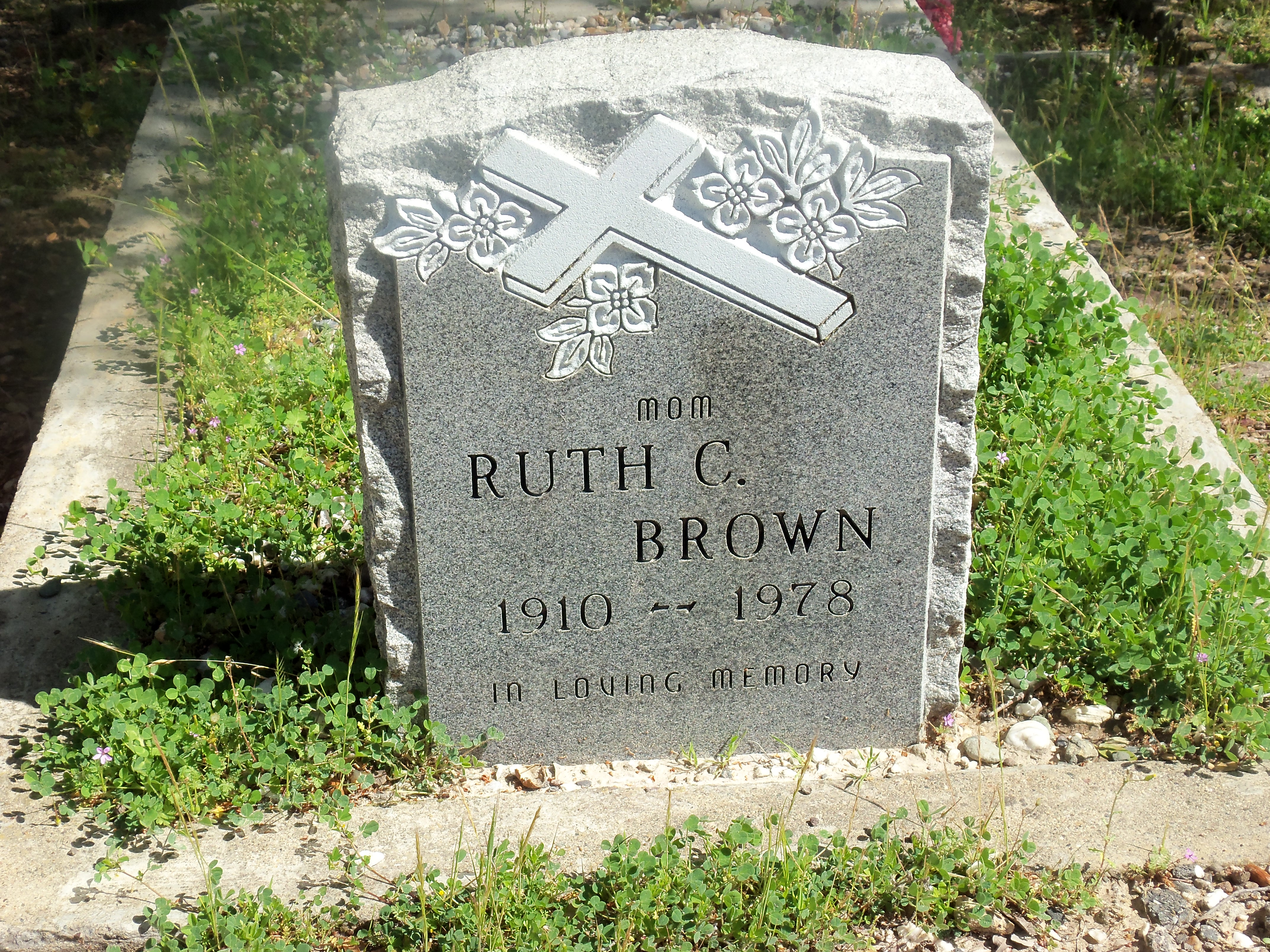 Ruth C Brown