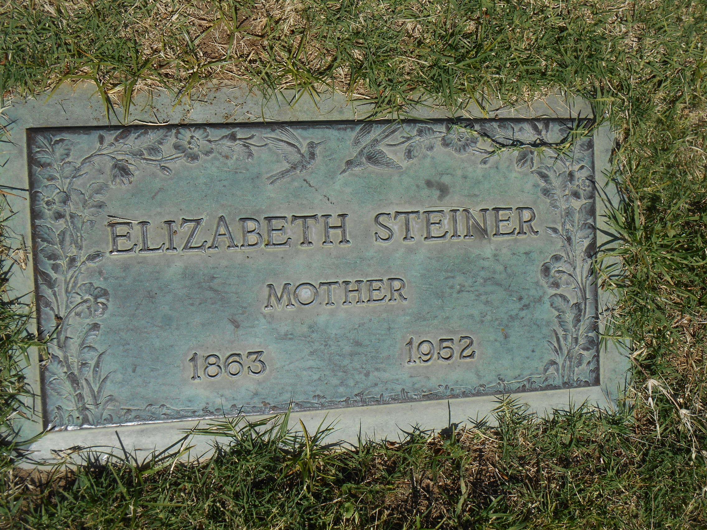 Elizabeth <i>Weaver</i> Steiner
