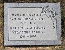 Maria de la Altagracia Carmen Juana Cuca Gonzalez