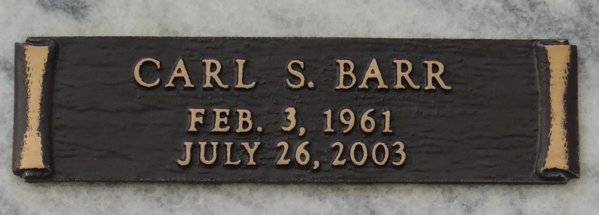 Carl Scott Barr