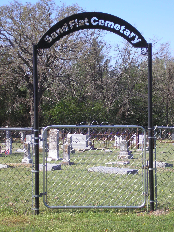 Sand Flat Cemetery
