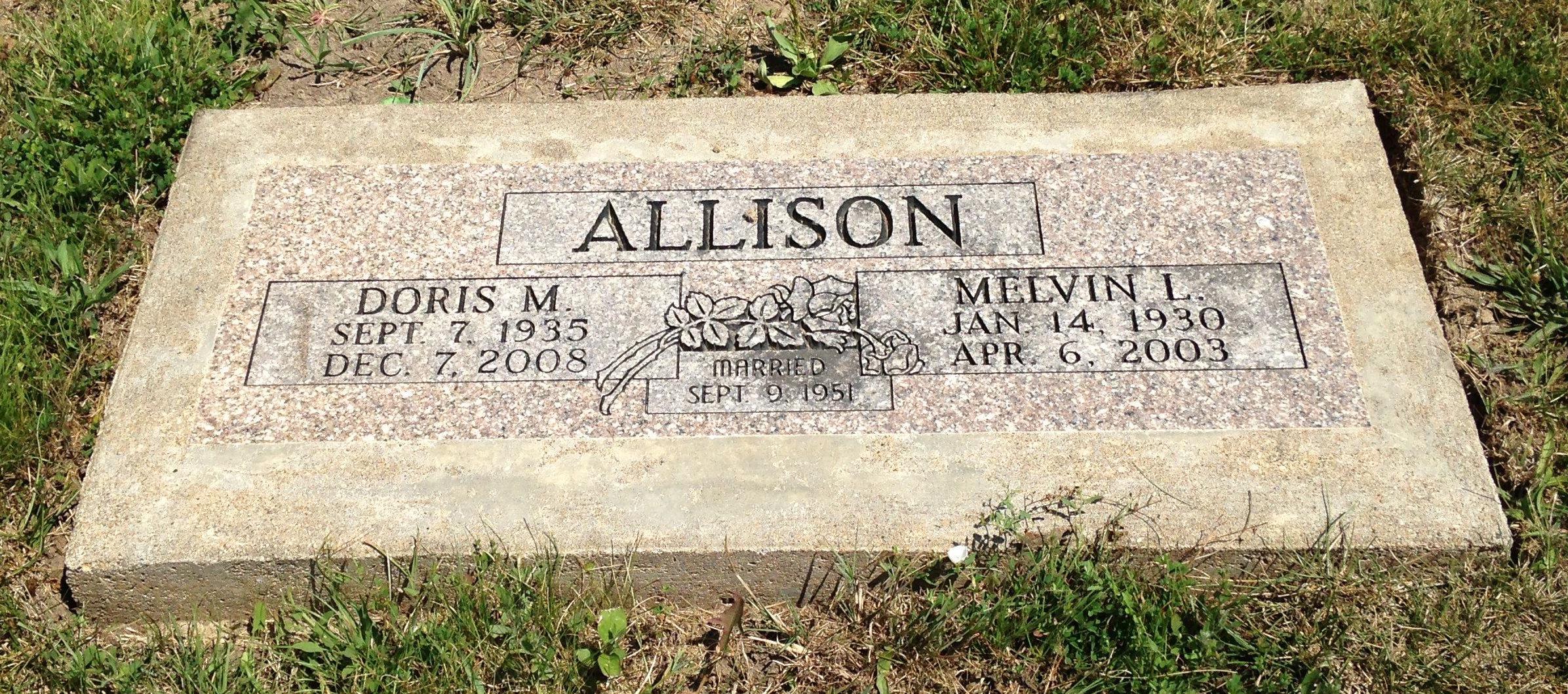 Doris Marie <i>Stice</i> Allison