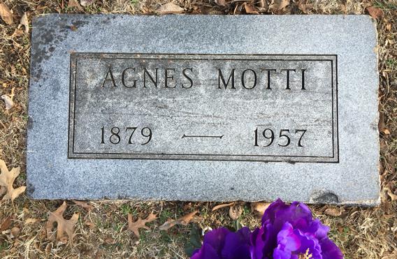 Agnes <i>Harriman</i> Motti
