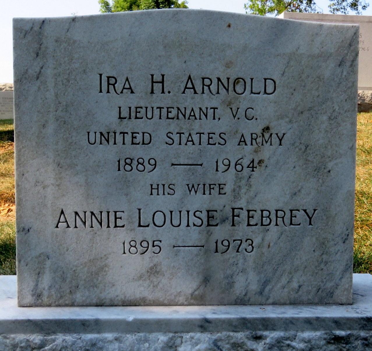 Annie Louise <i>Febrey</i> Arnold