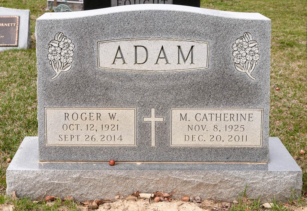 Mary Catherine Katie <i>Sheridan</i> Adam