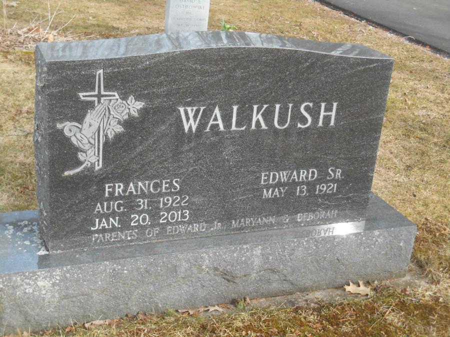 Frances E <i>Filtz</i> Walkush