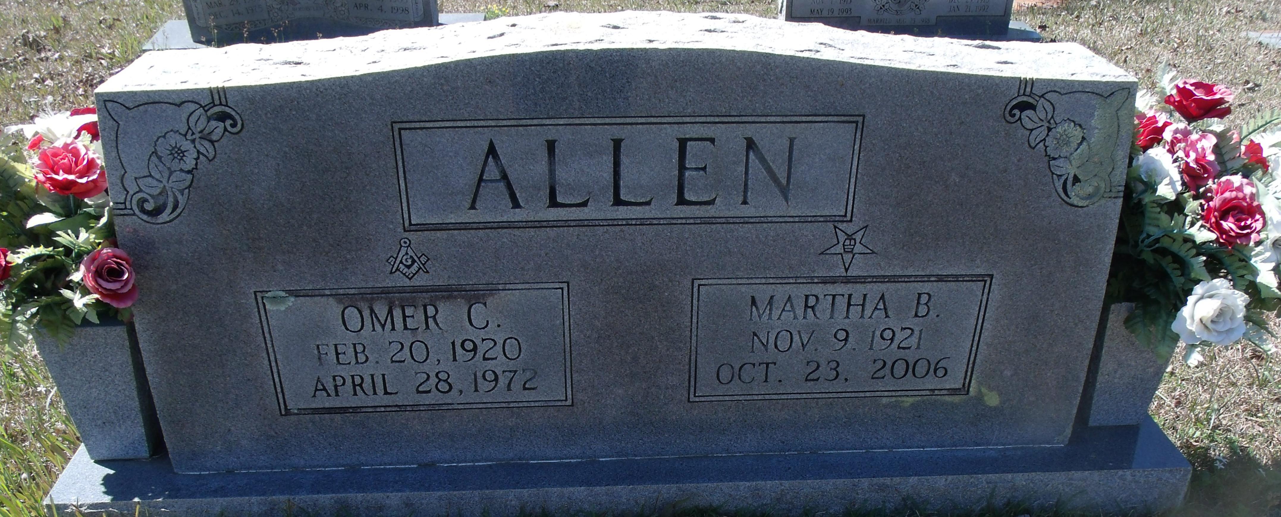 Martha Belle <i>Beckett</i> Allen