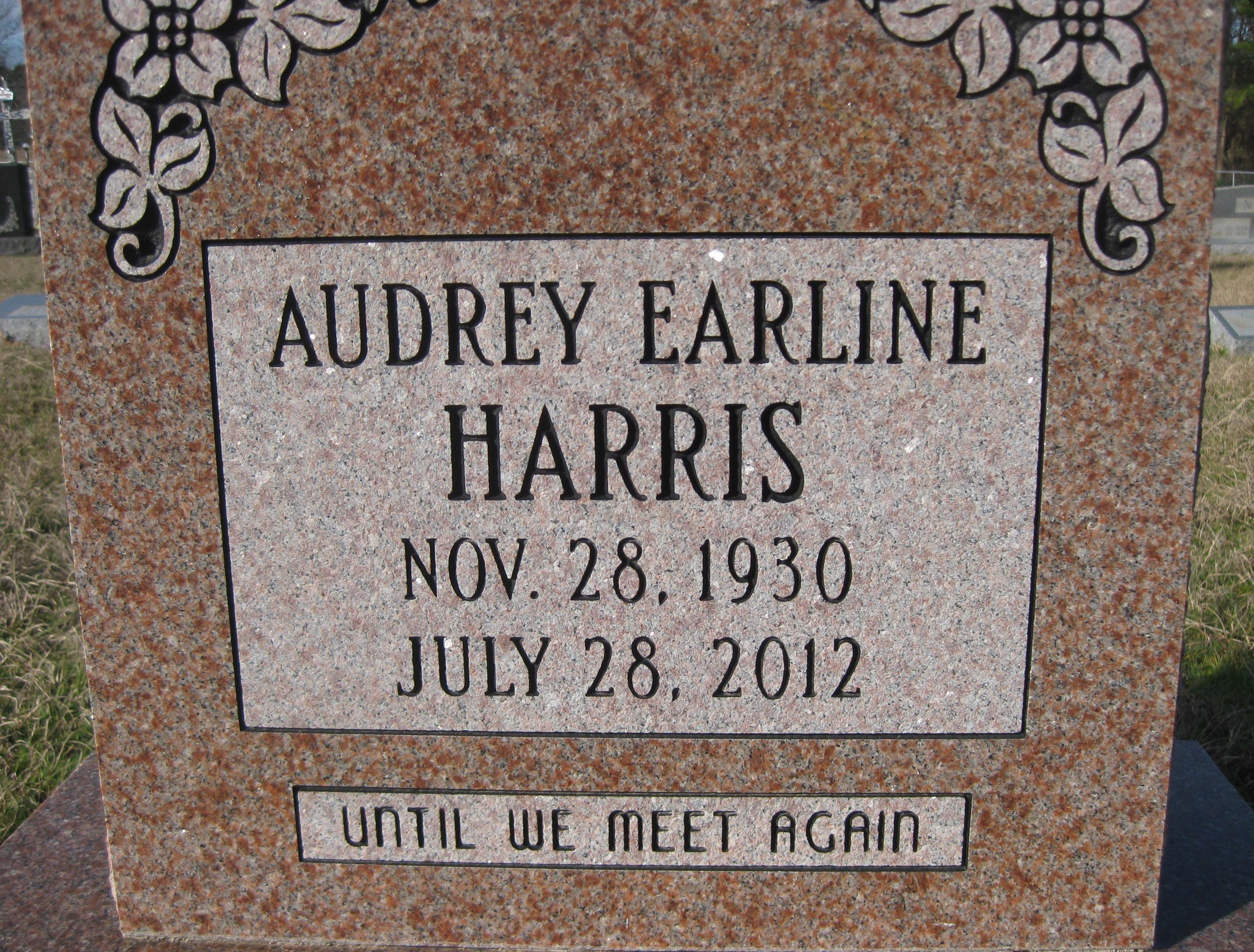 Audrey Earline <i>Key</i> Harris