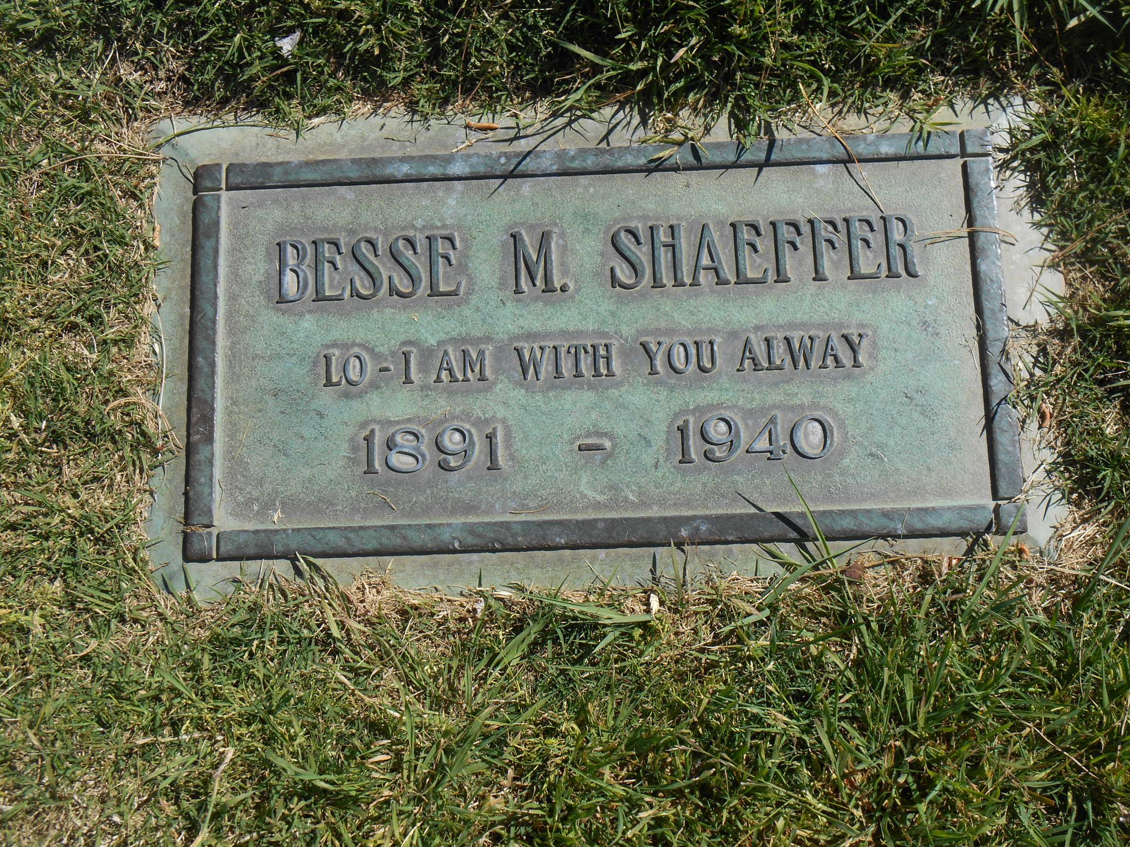 Besse Mary <i>Wolf</i> Shaeffer