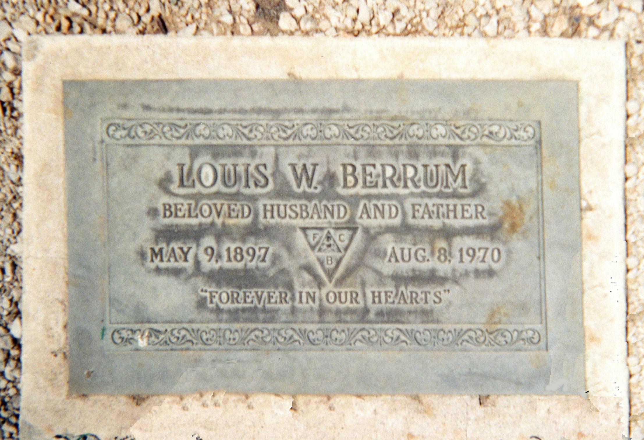Louis Willadson Berrum