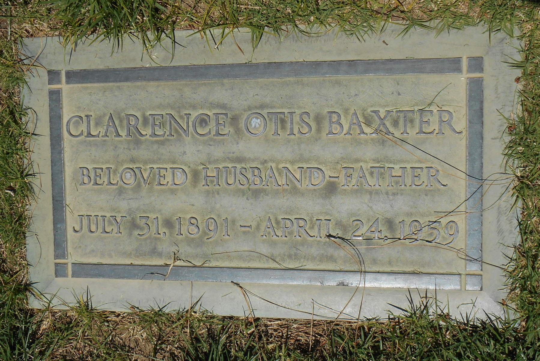 Clarence Otis Baxter